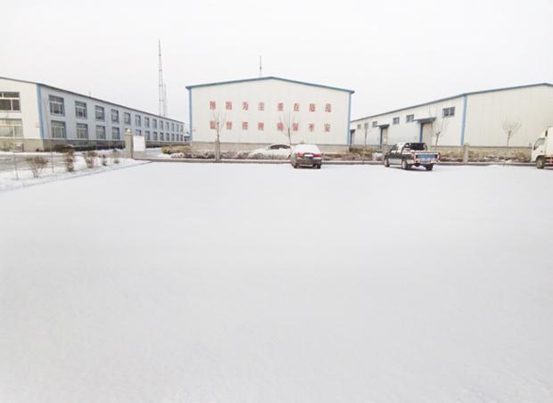 优舍-山东洁保第一场雪