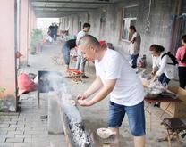 山东洁保市场部-第二届烧烤节