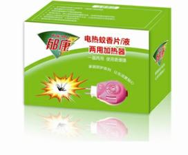 郁康家用杀虫剂电热蚊香片/液 两用加热器