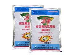 郁康5%高效氟氯氰菊酯悬浮剂袋装